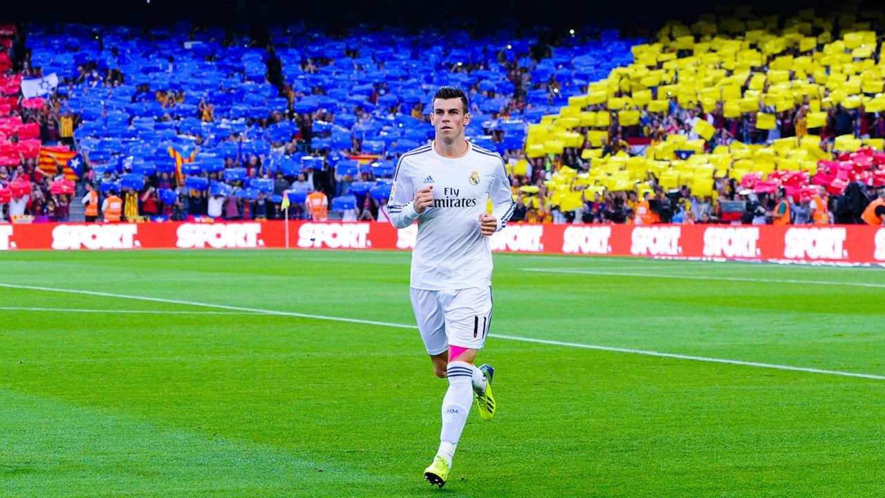 Gareth Bale Barcelona Real Madrid La Liga 10262013