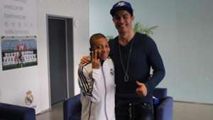 Cristiano Ronaldo Kylian Mbappe Real Madrid AS Monaco
