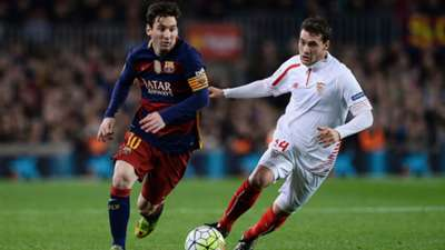 Lionel Messi Sebastian Cristoforo Barcelona Sevilla 28022016