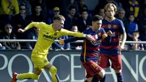 Samuel Castillejo Lionel Messi Villarreal Barcelona La Liga 03202016