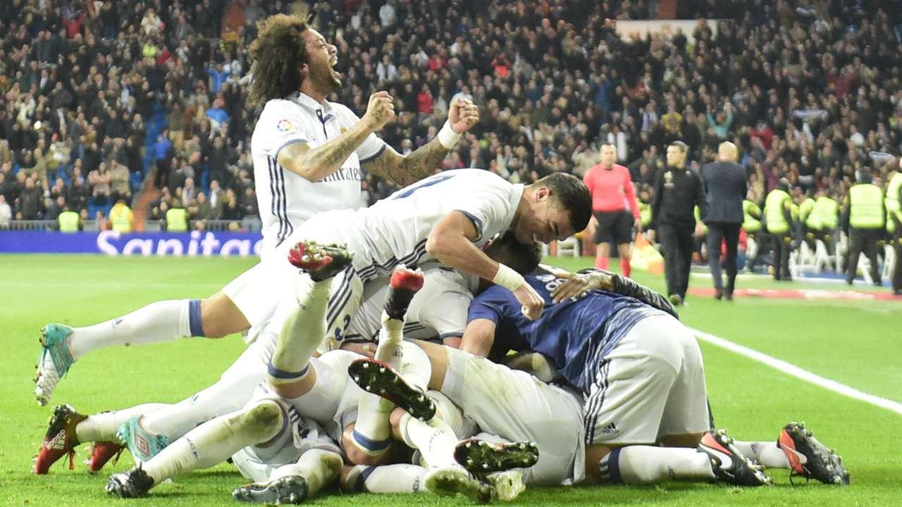 Real Madrid Deportivo Coruna LaLiga 10122016