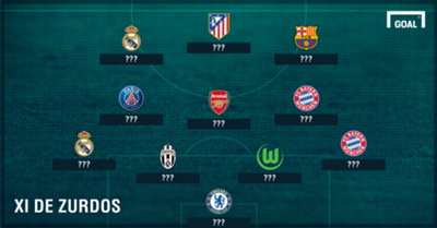 Left-footed players XI no-name GFX