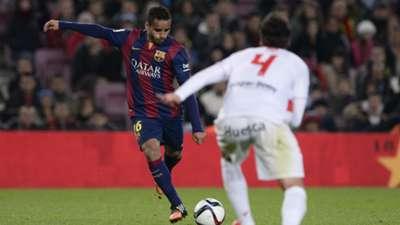Douglas Carlos David Barcelona Huesca Copa del Rey 12162014