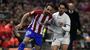 Juanfran Isco Alarcon Atletico Madrid Real Madrid La Liga