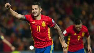 Vitolo Spain Macedonia World Cup Qualifier