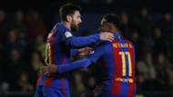 Lionel Messi Neymar Villarreal Barcelona La Liga