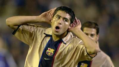 Riquelme ex Barcelona player