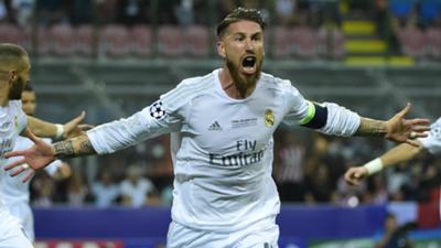 Sergio Ramos Real Madrid Atletico Champions League 2016