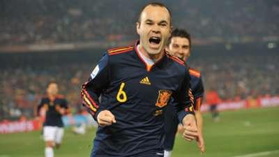 Iniesta Chile 2010