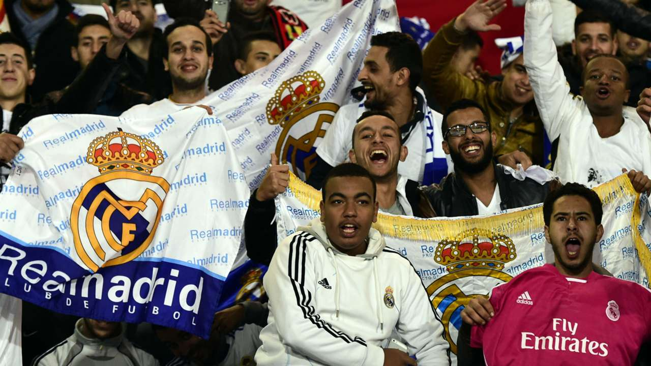 Fans Cruz Azul Real Madrid FIFA World Club Cup 12162014