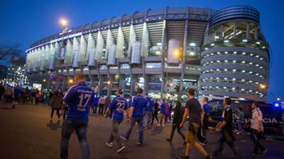 Fans Real Madrid Schalke 04 UEFA Champions League 03102015
