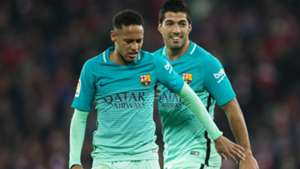 Neymar Luis Suarez Athletic Club Barcelona Copa del Rey
