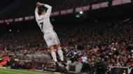 Cristiano Ronaldo celebrates Atletico Madrid Real Madrid La Liga