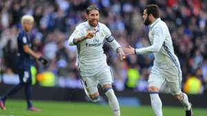 Sergio Ramos Nacho Sergio Ramos Real Madrid Malaga LaLiga 21012017