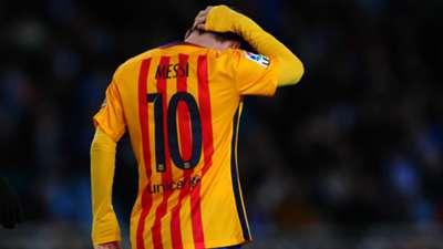 Leo Messi Real Sociedad Barcelona La Liga 09042016