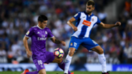 James Rodriguez Leo Baptistao Espanyol Real Madrid 18092016