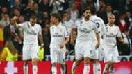 Karim Benzema Fabio Coentrao Sami Khedira Pepe Real Madrid Schalke 04 UEFA Champions League 03102015