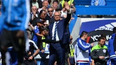 Claudio Ranieri Leicester Chelsea 15052016