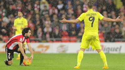 Beñat Roberto Soldado Athletic Club Villarreal Liga BBVA