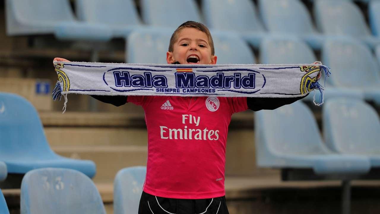 Fan Getafe Real Madrid Liga BBVA 01182015