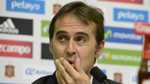 Julen Lopetegui Spain press conference