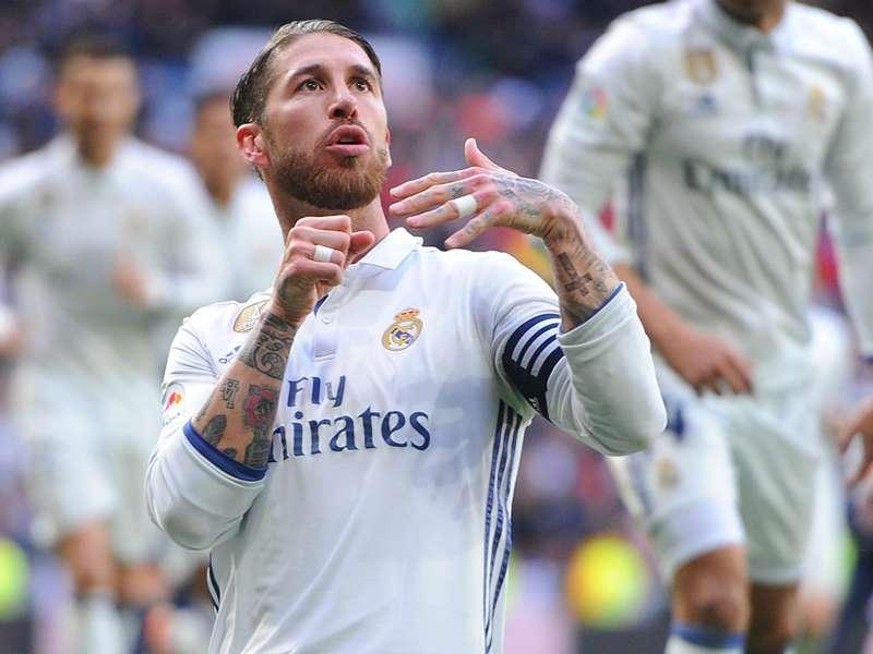 Ramos Rückennummer