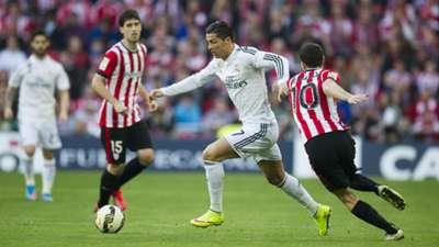 Cristiano Ronaldo Oscar De Marcos Athletic Bilbao Real Madrid La Liga 07032015
