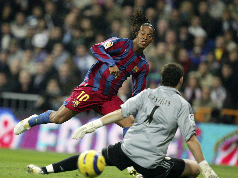 Ronaldinho Barcelona Real Madrid