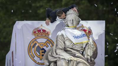Real Madrid UEFA Champions League Celebration
