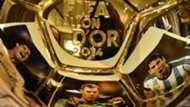 Golden Ball 2014 Nominees, Cristiano Ronaldo, Manuel Neuer, Lionel Messi