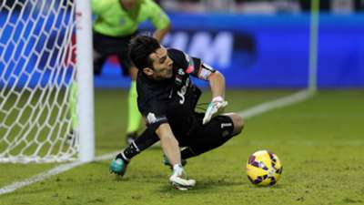 Gianluigi Buffon, Juventus, Napoli, Italian Super Cup, 22122014