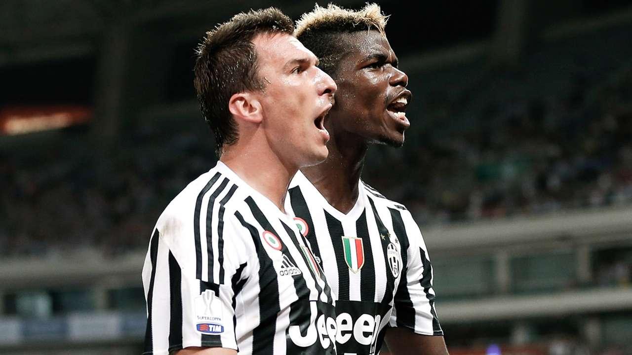 Mandzukic Pogba Juventus