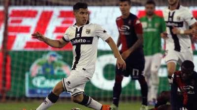 Josè Mauri Cagliari Parma Serie A 05042015