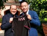 Berlusconi Han Li Milan