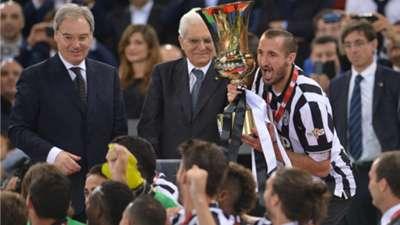 Giorgio Chiellini Juventus Coppa Italia
