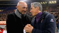 Luciano Spalletti Paulo Sousa Roma Fiorentina Serie A 04032016