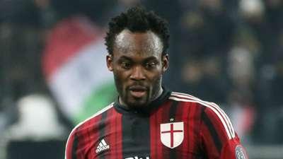 Michael Essien, Milan, Juventus, Serie A, 07022015