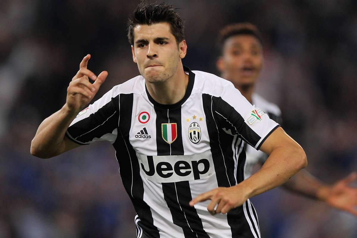 Morata Arrives In Turin Ahead Of Expected Transfer To Juventus Goal Com