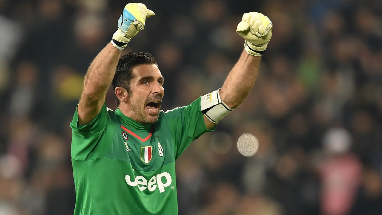 Gianluigi Buffon Juventus Sassuolo Serie A 11032016