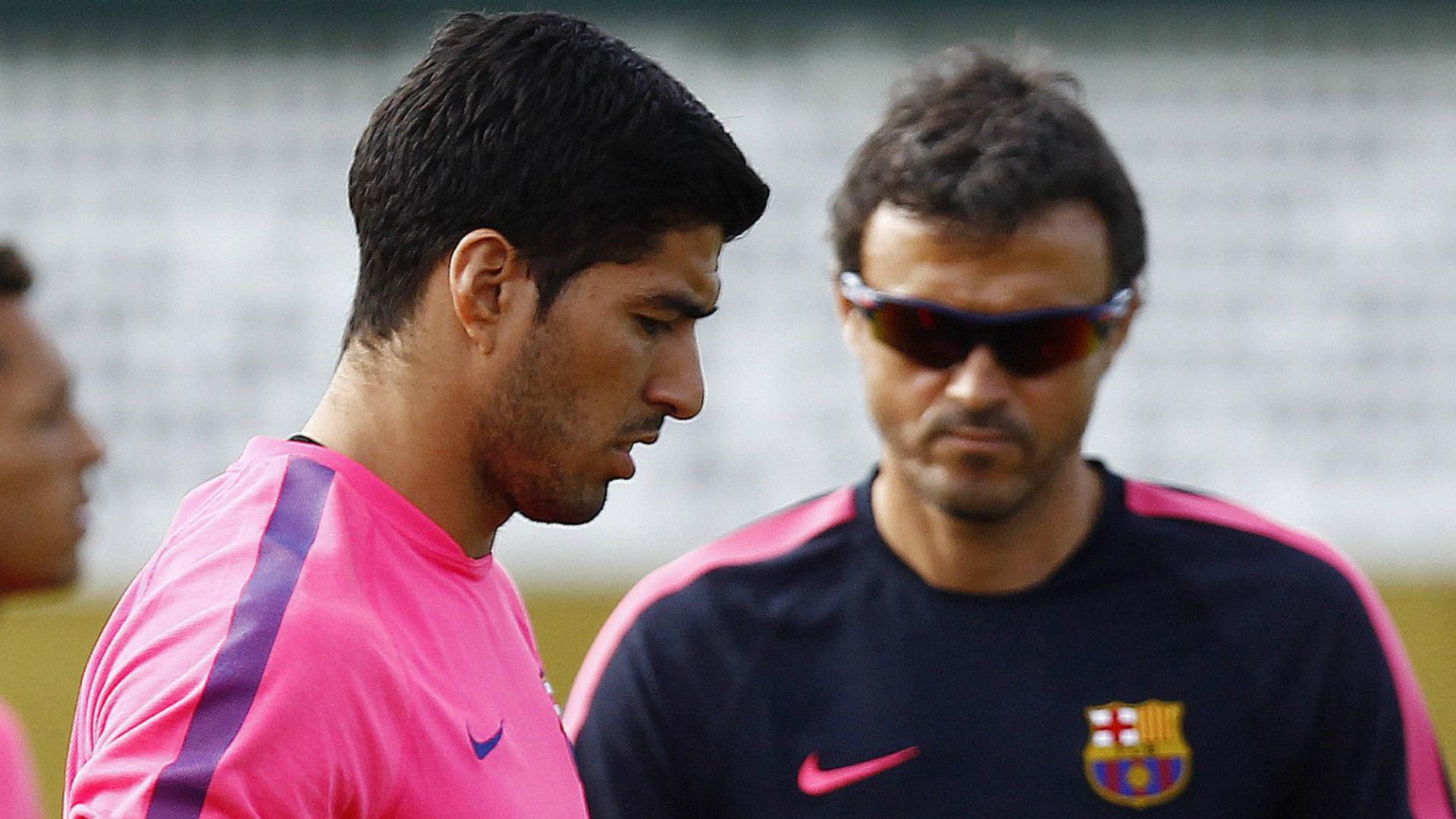 Luis Suarez Luis Enrique Barcelona