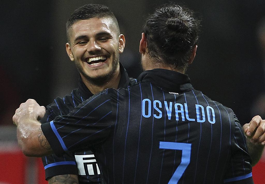 Osvaldo Icardi Inter Stjarnan Europa League