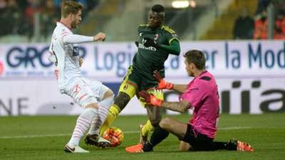 Mbaye Niang Riccardo Gagliolo Vid Belec Carpi Milan