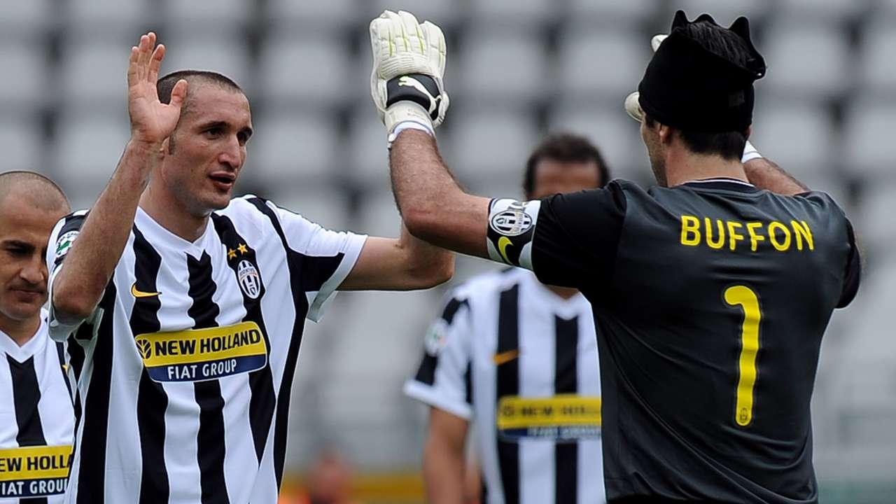Buffon e Chiellini, compagni di mille battaglie tra Juventus e Italia