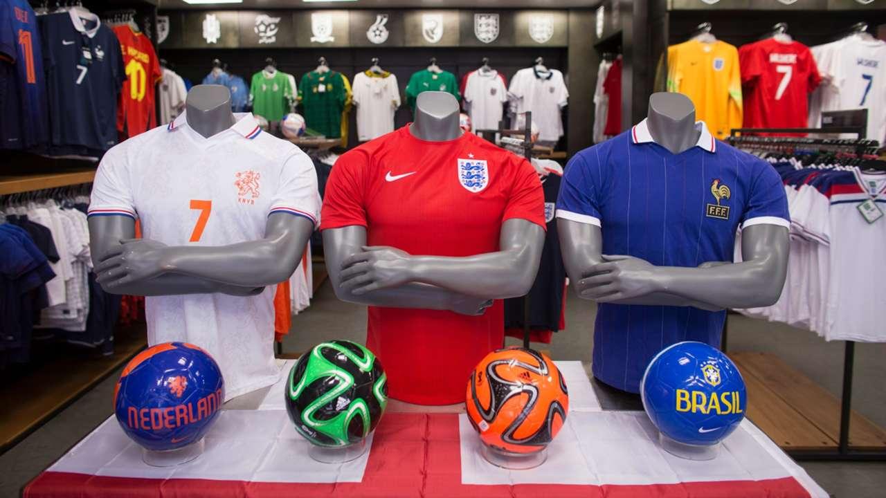 National team shirts