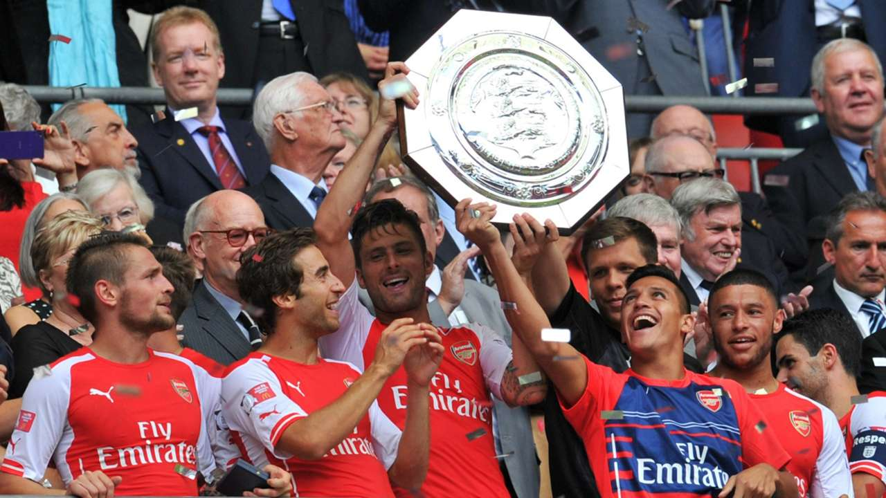 Arsenal Community Shield winner 10082014