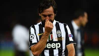 Andrea Pirlo Juventus Barcelona Champions League