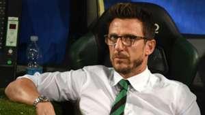 Eusebio Di Francesco, Sassuolo, Serie A, 08282016