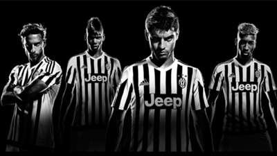 Le nuove maglie della Juventus