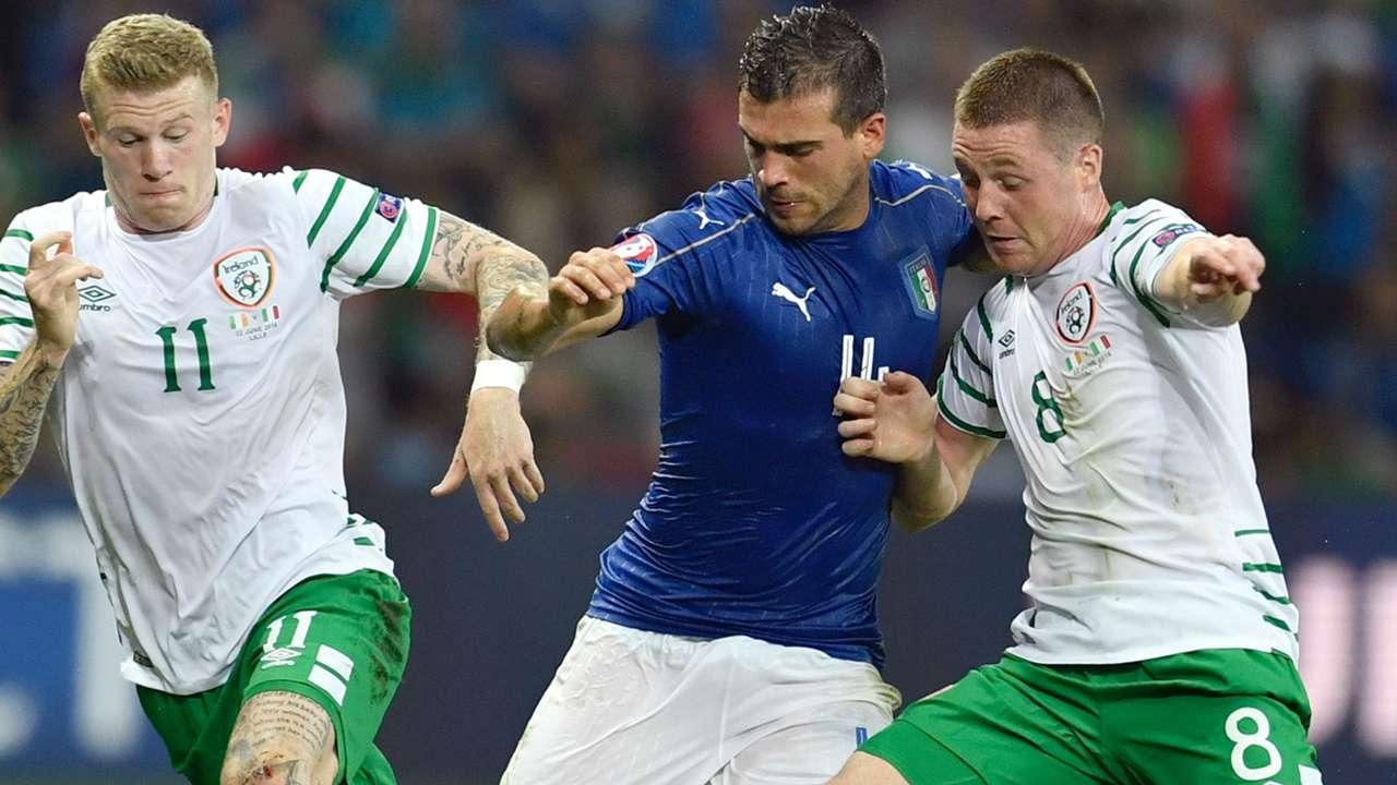 Stefano Sturaro Italy Ireland Euro 2016