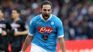 Gonzalo Higuain Napoli Carpi Serie A